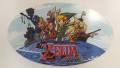 Zelda Wind Waker promotional cardboard